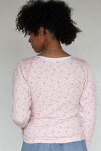 ALICE Tee - Rose Pointelle Thermal