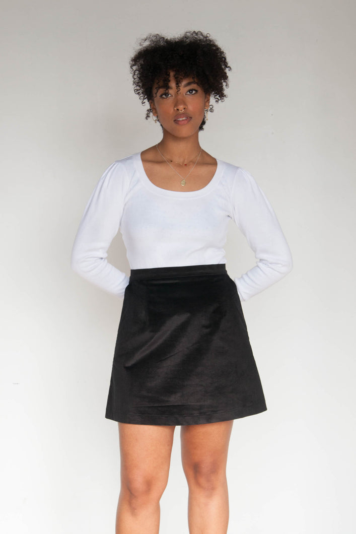 JESSICA Mini Skirt - Black