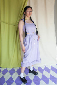 LA CAMPAGNE Skirt - Lilac