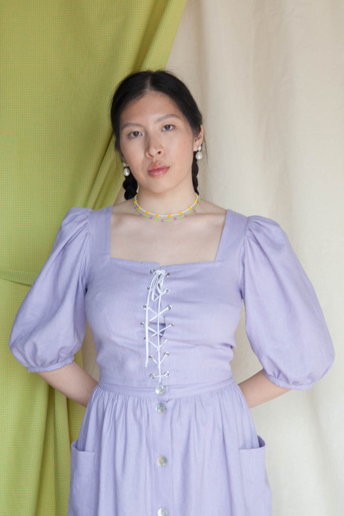MAIDEN Blouse - Lilac