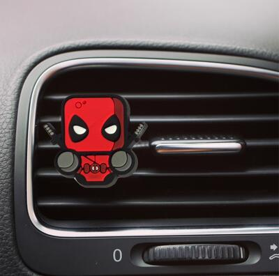 Disney Character Air Freshener Car Styling Auto Vent Clip