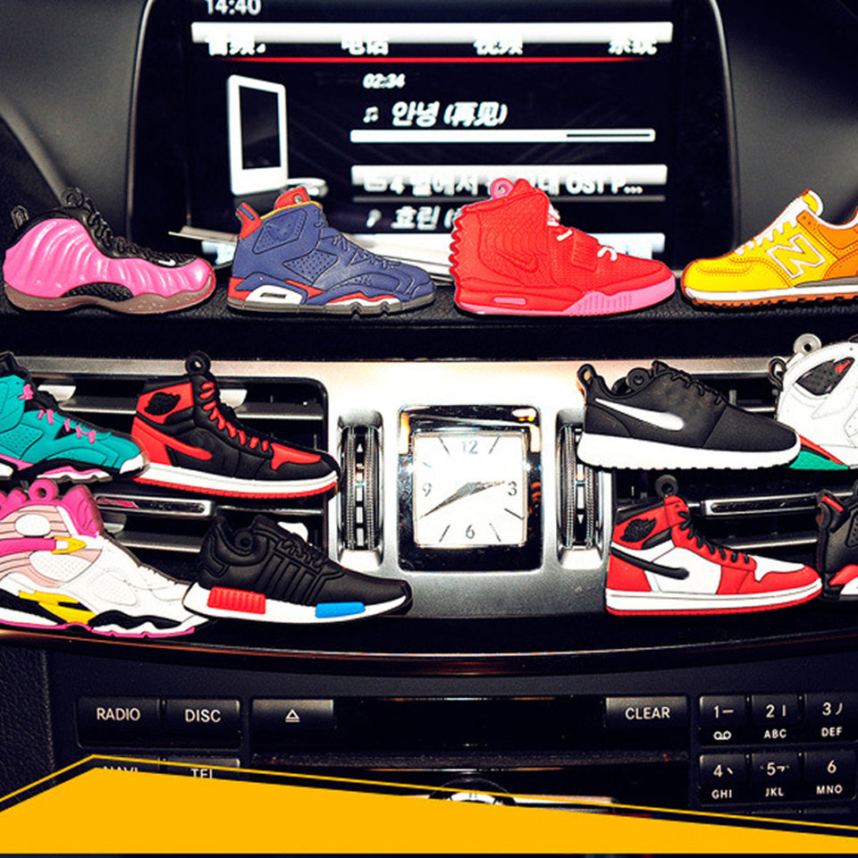 Sport Shoes Car Air Conditioner Outlet Air Fresheners Colorful Fashion Style