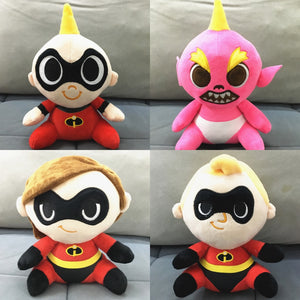 The Incredibles 2 Figure Doll Plush Toys 20cm