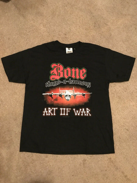 "Vintage 1998 Bone Thugs N Harmony ""Art Of War"" Tour Merch Collection"