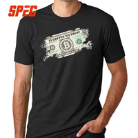 "Vintage Bitcoin Dollar "" In Crypto We Trust"" Collection"
