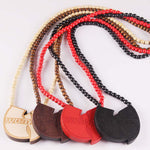 "WU TANG ""Good Wood"" Wooden Necklace Charms"