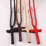 GOOD WOOD NYC Cross Necklace