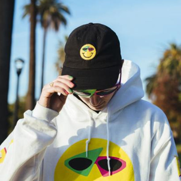 "Supreme ""Roy Purdy"" Smiley Snapback Cap"