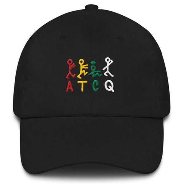 "Vintage ATCQ ""A Tribe Called Quest"" Embroidered Snapback Hat"