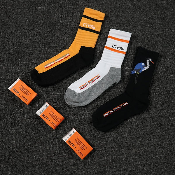 "Heron Preston ""Crane"" Socks Collection"