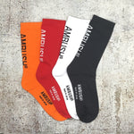 "Supreme ""Ambush Design"" Logo Socks 19SS"
