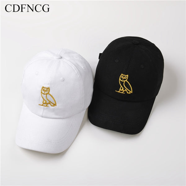 "Drake ""Octobers Very Own"" OVO Owl Baseball Cap"