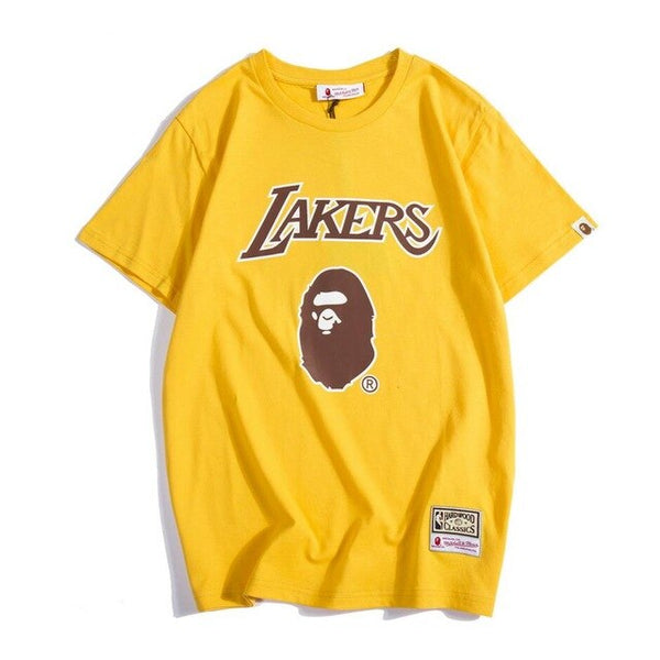 "2019 BAPE Lakers Jersey Collection ""A Bathing Ape"""