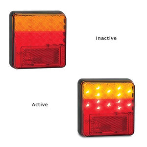 LED Autolamps 100ARM Stop/Tail & Indicator Lamp 12/24 Volt - Each