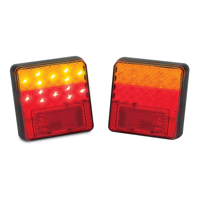 LED Autolamps 100BAR2 12 Volt Stop/Tail & Indicator Lamps - Pair