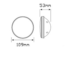 110WMG round reverse insert or module dimensions