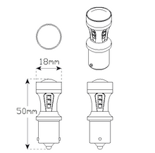 LED Autolamps 12/24V LED Bayonet Globes - BA15S, BAU15S, BAY15D