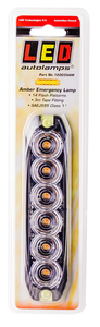 LED Autolmps 120035AM Amber Emergency Lamp SAEJ595 Class 1