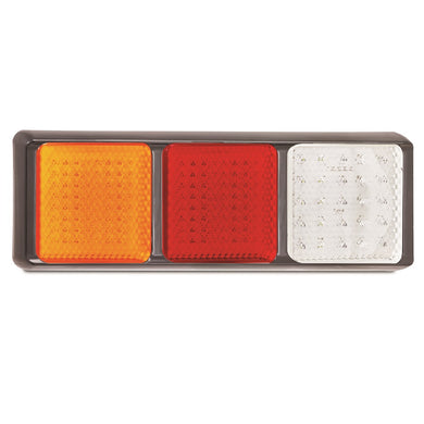LED Autolamps 125BARWM Stop/Tail/Indicator & Reverse Combination Lamp