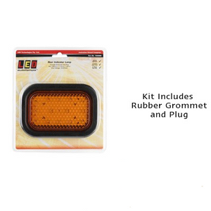 LED Autolamps 130AMG Rectangle Indicator Module or Insert - Each