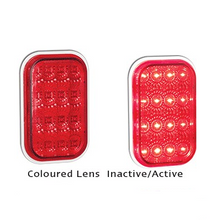 LED Autolamps 131RM Rectangle Stop/Tail Lamp Module or Insert - Each