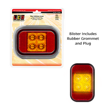 LED Autolamps Rectangle Indicator Recessed Module or Insert  - Each