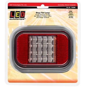 LED Autolamps 134RMG Stop/Tail Lamp