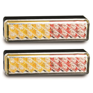 LED Autolamps 135ARM/2 Stop/Tail & Indicator Lamps - Pair