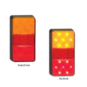 150 Series LED Autolamps Stop/Tail/Indicator Lamp w/ Reflex Reflector