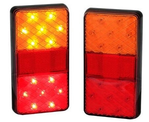 LED Autolamps 150BAR2 12 Volt Stop/Tail & Indicator Lamps - Pair