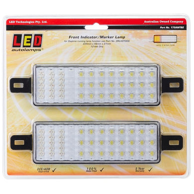 LED Autolamps 175AWTB2 Front Indicator/Marker Lamp - Pair