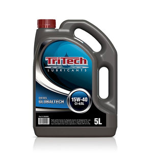TriTech Globaltech 15W40 CI-4 Heavy Duty Engine Oil