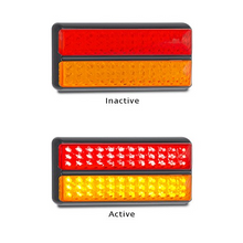 LED Autolamps 200BARM Stop/Tail & Indicator Lamp 12/24 Volt - Each