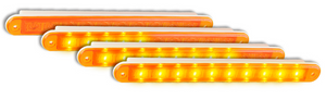 LED Autolamps 235ASEQ-2 12 Volt Sequential Rear Indicator Lamps - Pair