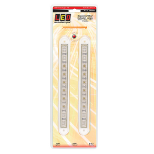 LED Autolamps 235CSEQ-2 12 Volt Sequential Rear Indicator Lamps - Pair