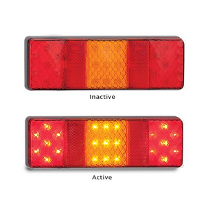 250 Series Stop/Tail and Indicator Lamp with Reflex Reflectors - Each