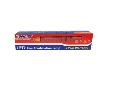 Lucidity Jumbo LED Stop/Tail & Progressive Indicator Lamp - 26007PARR-BV