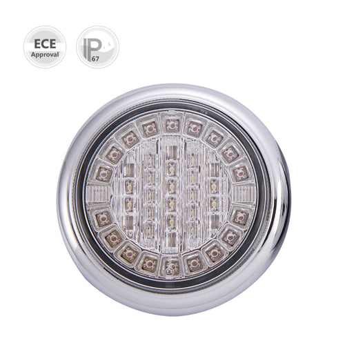 Lucidity Round LED Reverse/Indicator Combination Lamp - Each