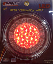 Lucidity Round LED Stop/Tail/Indicator Combination Lamp - Each