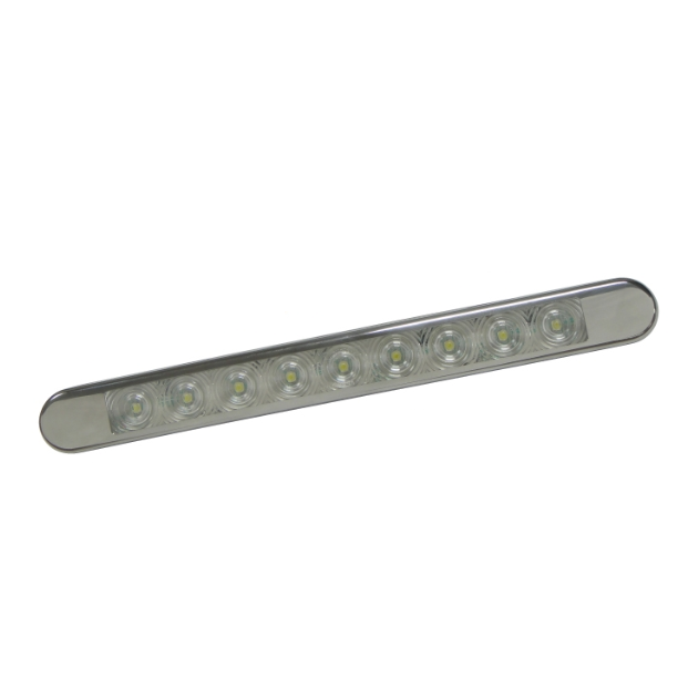 Lucidity Thin Surface Mount LED Reverse Lamp 26154CK-V