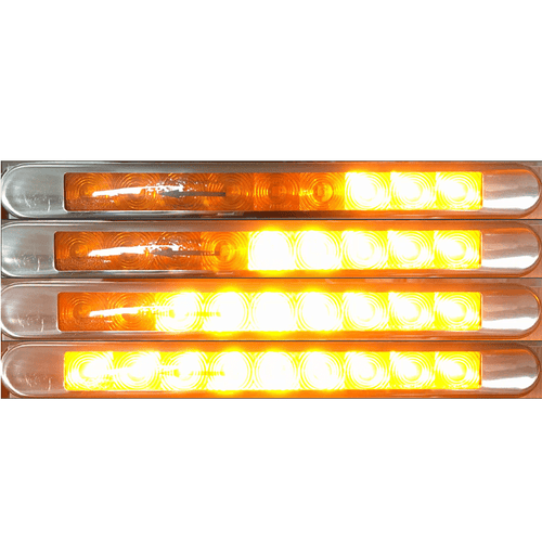 Lucidity thin led progressive indicator lamp 26154NAK-V