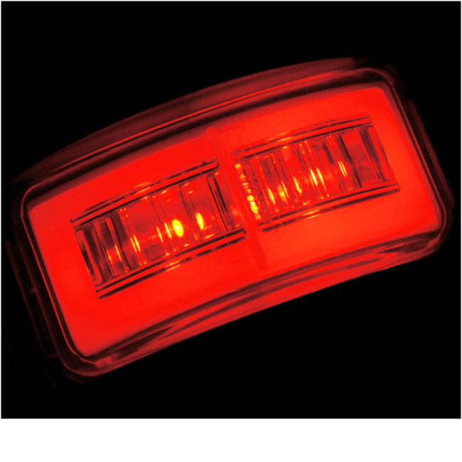 Lucidity GloTrac LED Red Rear Marker Lamp