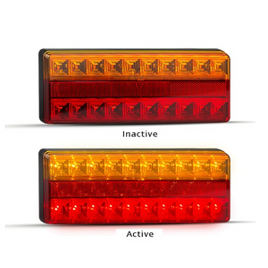 275 Series LED Autolamps Stop/Tail Indicator with Reflex Reflectors