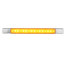 LED Autolamps 285CAT12 Slim Chrome Front Indicator Lamp - 12 Volt Only