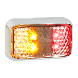 LED Autolamps 35CCARM Red/Amber Side Marker Lamp