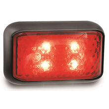 LED Autolamps 35RM Red Rear End Outline Marker Lamp