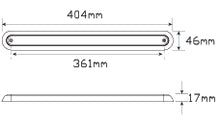 LED Autolamps 380BAR12 dimensions