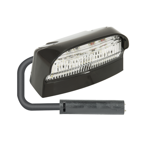 LED Autolamps 41BLMCSB Licence Plate Lamp with 2 Pin Plug