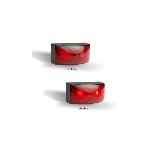 LED Autolamps 5025RMB Red Rear End Outline Marker - Box of 10
