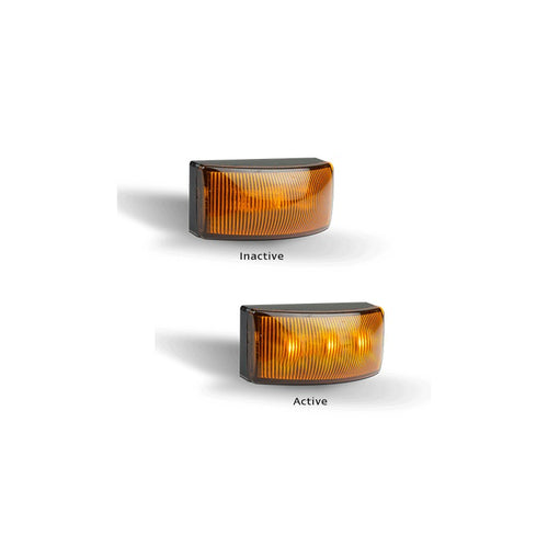 5025AMB LED Amber Side Marker/Side Direction Marker 12 /24 Volt - Box of 10